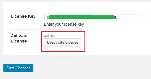 Diactivate License