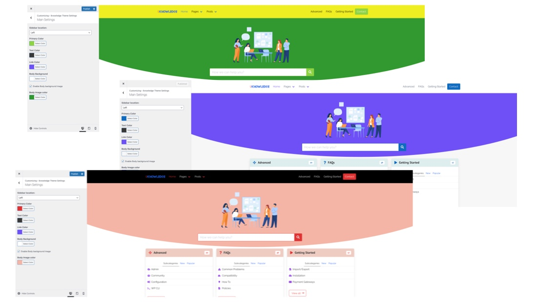 IKnowledgeBase Customize