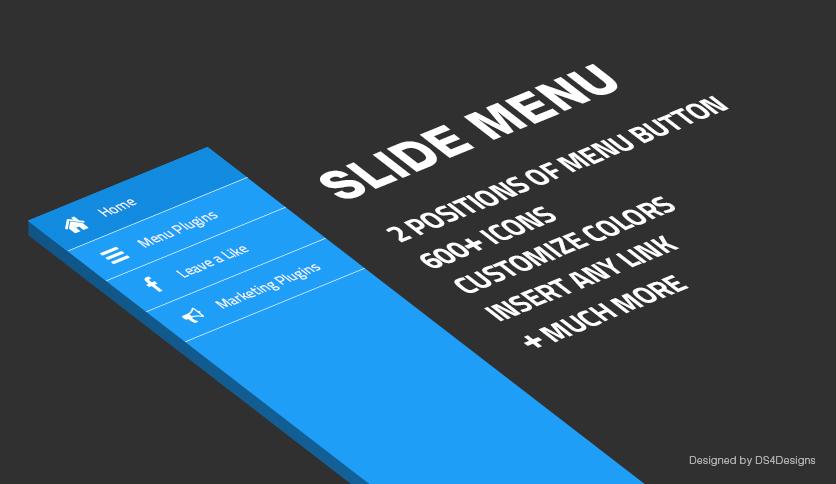 "Preview image of <span itemprop=""name"">Slide Menu Pro</span>"