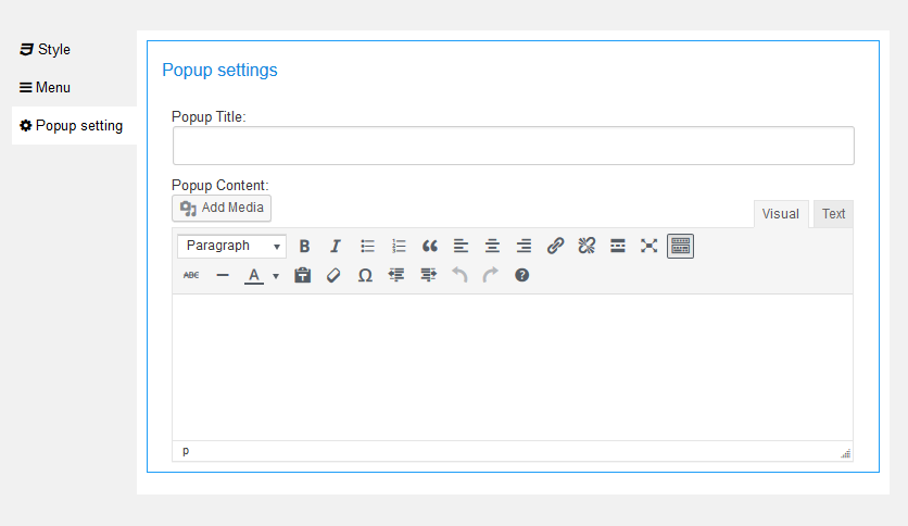 how to create indents in wordpress