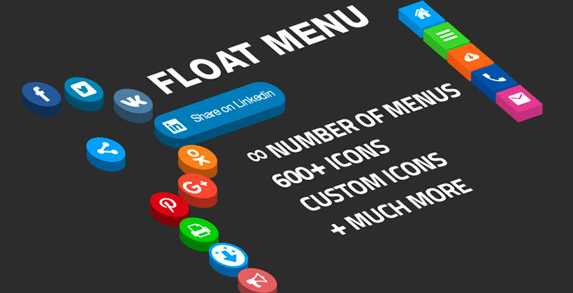 WordPress plugin Float Menu