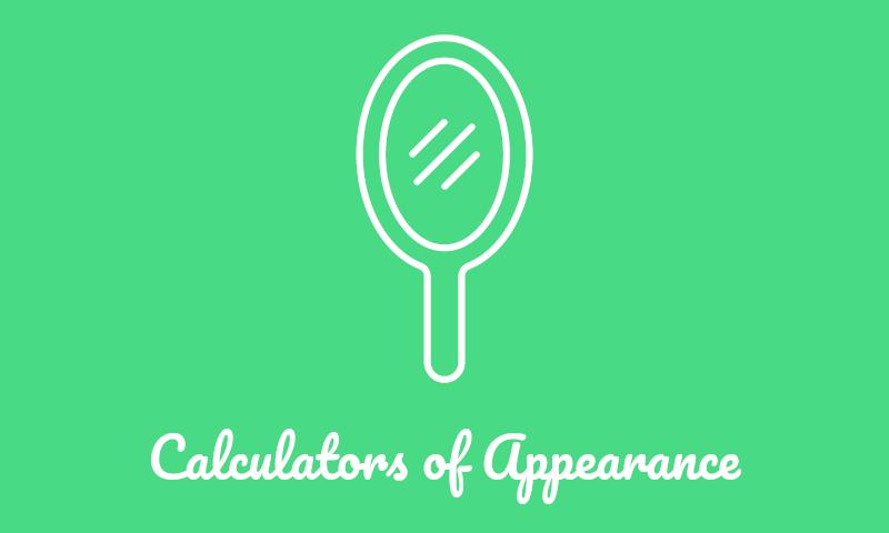 Appearance Calculators